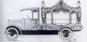 Катафалк 20 века.